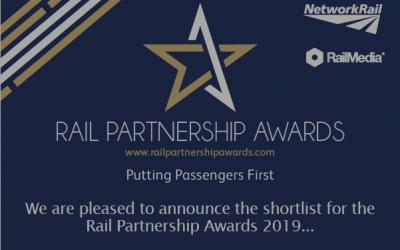 ATL Shortlisted for Rail Partnership Awards 2019